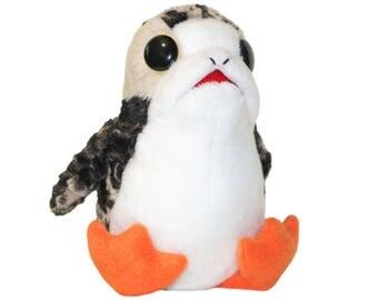 Porg Star Wars - Handmade Plush Toy - Souvenir- The Last Jedi