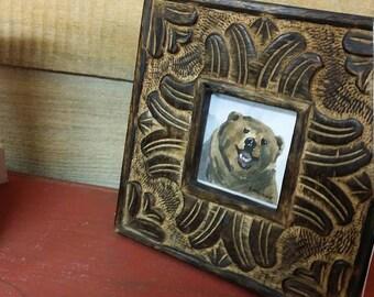 Bear miniature 3x3