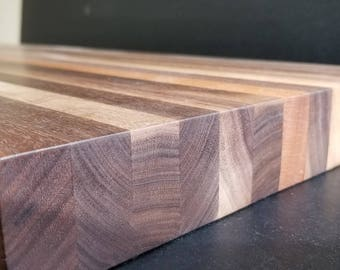 Large walnut Chopping block