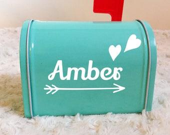 Customized Valentine's Mailbox