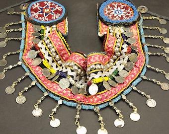 Afghan Tribal Bellydance Dangles BELT Turkoman 868f8