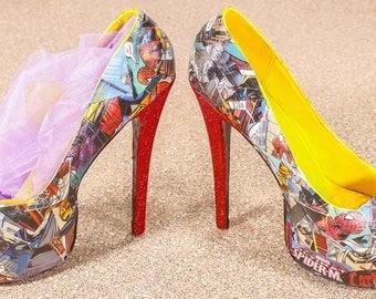 Comic shoes