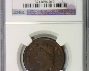 1810 Large Cent NGC Certified