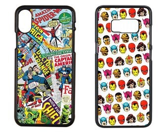 Comics Pattern Phone Case for iPhone 5S, iPhone 6S Plus, iPhone 7, iPhone 7 Plus, iPhone 8 Plus, Samsung Galaxy S8, Samsung Galaxy S7
