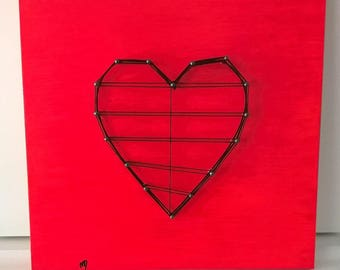 Frame decorative heart wooden decoration unrequited love