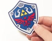 Zelda Master Shield Sticker