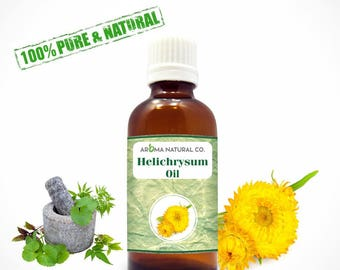 Helichrysum Essential Oil Pure & Natural For Aromatherapy