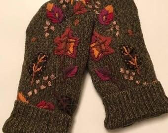 Nature Sweater mittens