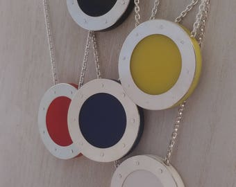 Nautical Series - Large Porthole Pendants