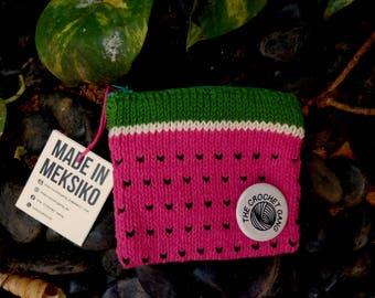 Watermelon handmade purse