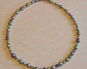 Pastel Metallic Necklace