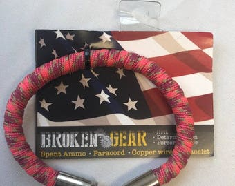 Broken Gear Bullet Bracelet - Party On