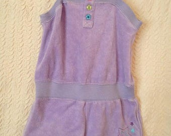 Terry girls jumpsuit size 2