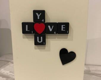 Handmade Valentine's Day Card Love Card