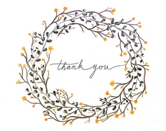Thank You Cards - Set of 5