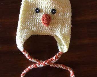 Crochet Chick Hat