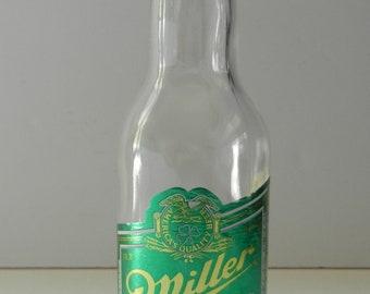 Miller Genuine Draft Beer Bottle