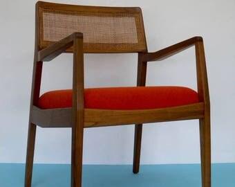 Midcentury Danish Design classic Jens Risom C140 Playboy chair