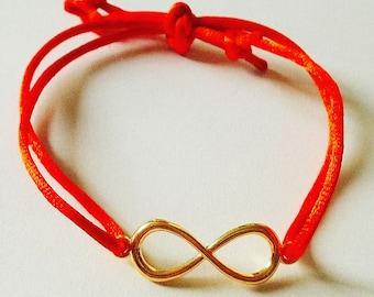 red iternity braceled