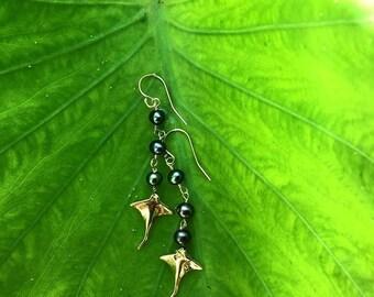 Black Pearl and Manta Ray