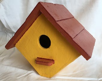 Diamond Birdhouse