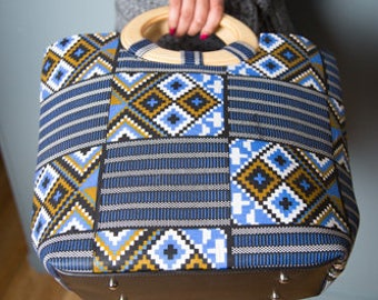AFRICAN PRINT HAND Bag