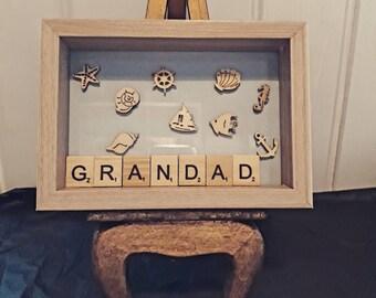 Grandad Seaside Frame