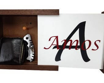 Last Name Concealment Shelf