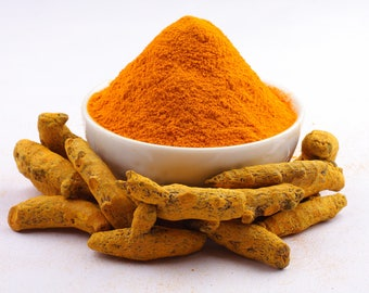 Best Spice: Turmeric poudre, organic food, spicy, vegan and vegetarian (50gr)