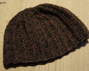 Knitted hats 100% wool