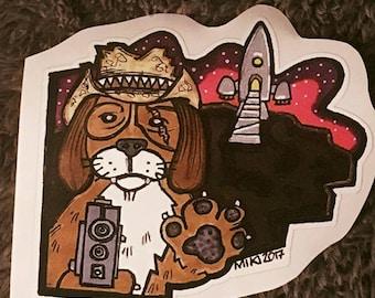 Space Dog Bounty Hunter