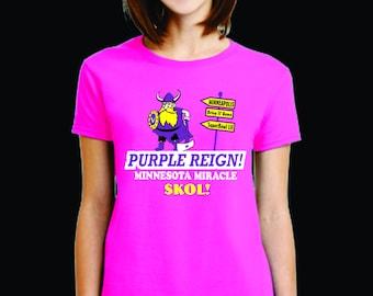 Vikings Womens Tshirt