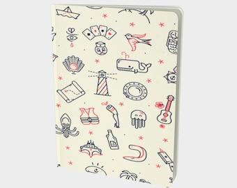 Bujo || Bullet Diary || Grid Journal || Dot Grid Journal || Dotted Grid Notebook || Bullet Journal || Custom Journal || Sailor Design