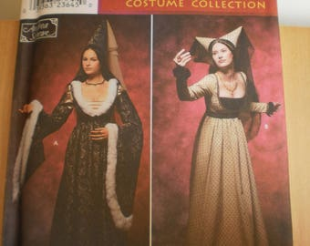 Renaissance costume collection simplicity 9058 6,8,10,12 HH