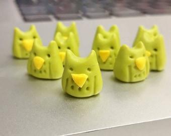 Owl Push Pins