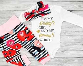 Baby Girl Clothes, Infant Girl Clothes, Coming Home Outfit Baby Girl, Baby Girl Gift, Going Home Outfit Girl, Baby Girl Clothes Hipster