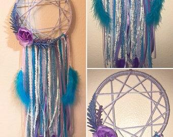 Purples and Blues Dreamcatcher