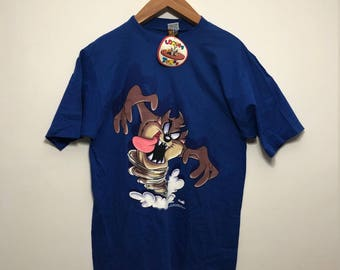 Vintage NWT Looney Tunes Tasmanian Devil Shirt