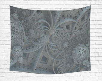 "Fractal Wall Tapestry 60""x 51"""