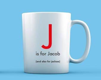 J is For... Mug