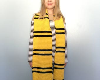 Small Hufflepuff scarf
