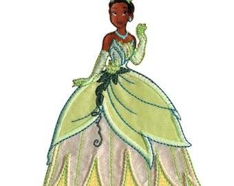 Wrights Disney Princess Iron-On Applique Tiana