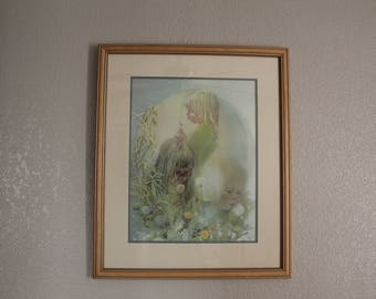 """Carolyn Blish """"Make a Wish"""" signed/numbered limited edition print"""