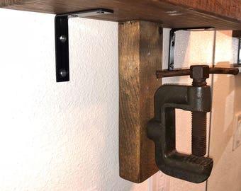 Industrial Towel Rack
