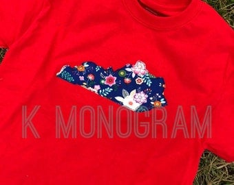 Kentucky floral tshirt