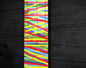 Painting 60 x 180 on plexiglas + dibond