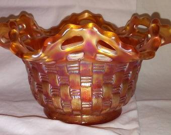 Fenton Marigold Bowl