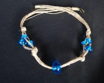 Blue MURANO glass beads