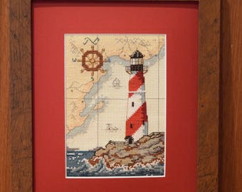Completed Cross Stitch:  The Maritime