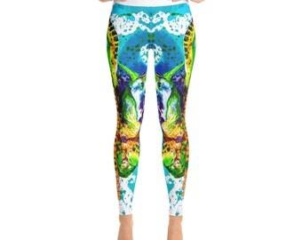 Looe Key Colorcomotion Yoga Leggings